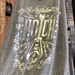 NWT Affliction Rock tank AW21596